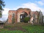 Березовец, церковь Троицкая (руины), нач. XX в.