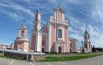 Боруны, монастырь базилиан:  костел св. Петра и Павла, 1700-07 гг., 1747-57 гг.