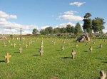 Боруны, кладбище солдат 1-й мировой войны, 1915-18 гг.