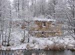 Дворец (Дятлов. р-н), водяная мельница (руины), XIX-нач. XX вв.