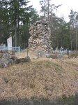 Гольшаны, кладбище христианское: памятник немецким солдатам, 1915-18 гг.
