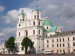 Гродно, монастырь иезуитов:   костел св. Франциска Ксаверия (фарный), 1678-1703 гг…