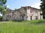 Оболь (Шумил. р-н), усадьба:    усадебный дом (руины), 1-я пол. XIX в.