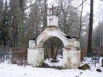 Околово, кладбище христианское: брама, 2-я пол. XIX в.