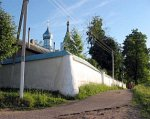 Орша, монастырь Успенский: ограда с контрфорсами, XIX в.?