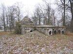 Первомайская (Корел. р-н), усадьба:   часовня-усыпальница, 1911 г.
