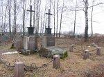 Смоляны, кладбище католическое: могила Томаша Зана, 1855 г.