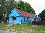 Староселье (Добруш. р-н), церковь св. Николая (дерев.), 1964 г.