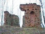 Студенец, часовня-усыпальница (руины), XIX-нач. XX вв.