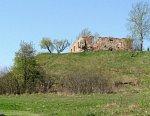 Свислочь (Осипов. р-н), замчище: служебная постройка (руины), XVIII-XIX вв.?