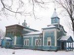 Залужье (Старод. р-н), церковь св. Георгия (дерев.), 1905 г.?