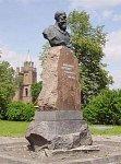 Жупраны, памятник Франтишку Богушевичу, 1958 г.